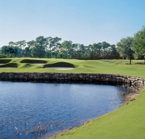 10th hole Grande Pines Golf Club-Orlando