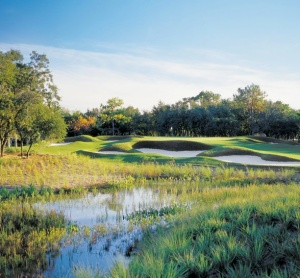 4th hole and Wildlife marsh area-Grande Pines Golf Club