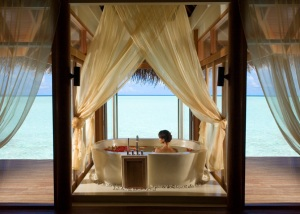 View Anantara Dhigu resort Maldives
