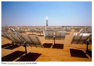 Mohave desert solar plant