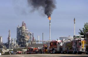Conoco-Phillips refinery LA (Photo-David McNew:Getty Images)