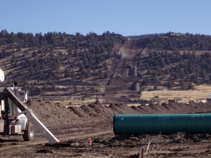 Pipeline burial - 360Oilfiled image