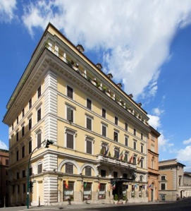 Exterior view- Hotel Pace Helvezia-Rome