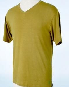 10145 Golden-Tan Mens v-neck - Casualmere