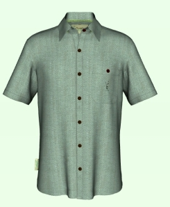 Image of our projected new woven bamboo luxury men's shirts.