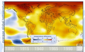 Global Temperatures 2012
