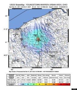 Frackquakes in Ohio