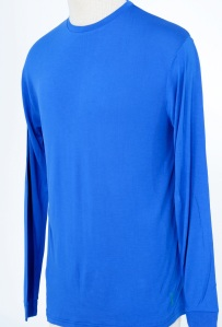 Casualmere® Men's 100% bamboo long sleeve t-shirt,.