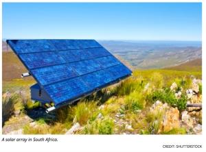 Solar Array in S. Africa.